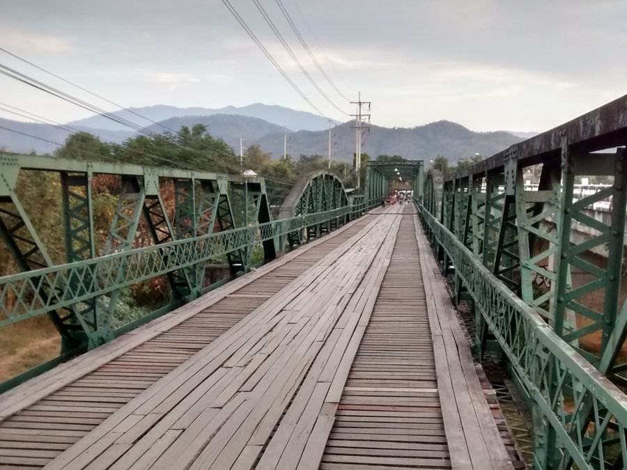 Pai Memorial Bridge, Thailand